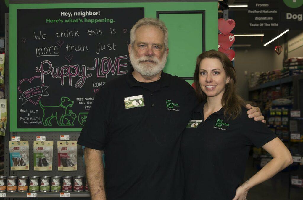 Joe Petergal and his daughter Brenda